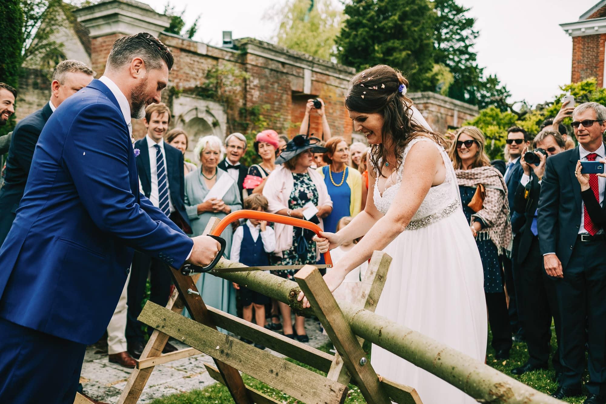 Canterbury Wedding Photographer - Bride having her makeup done