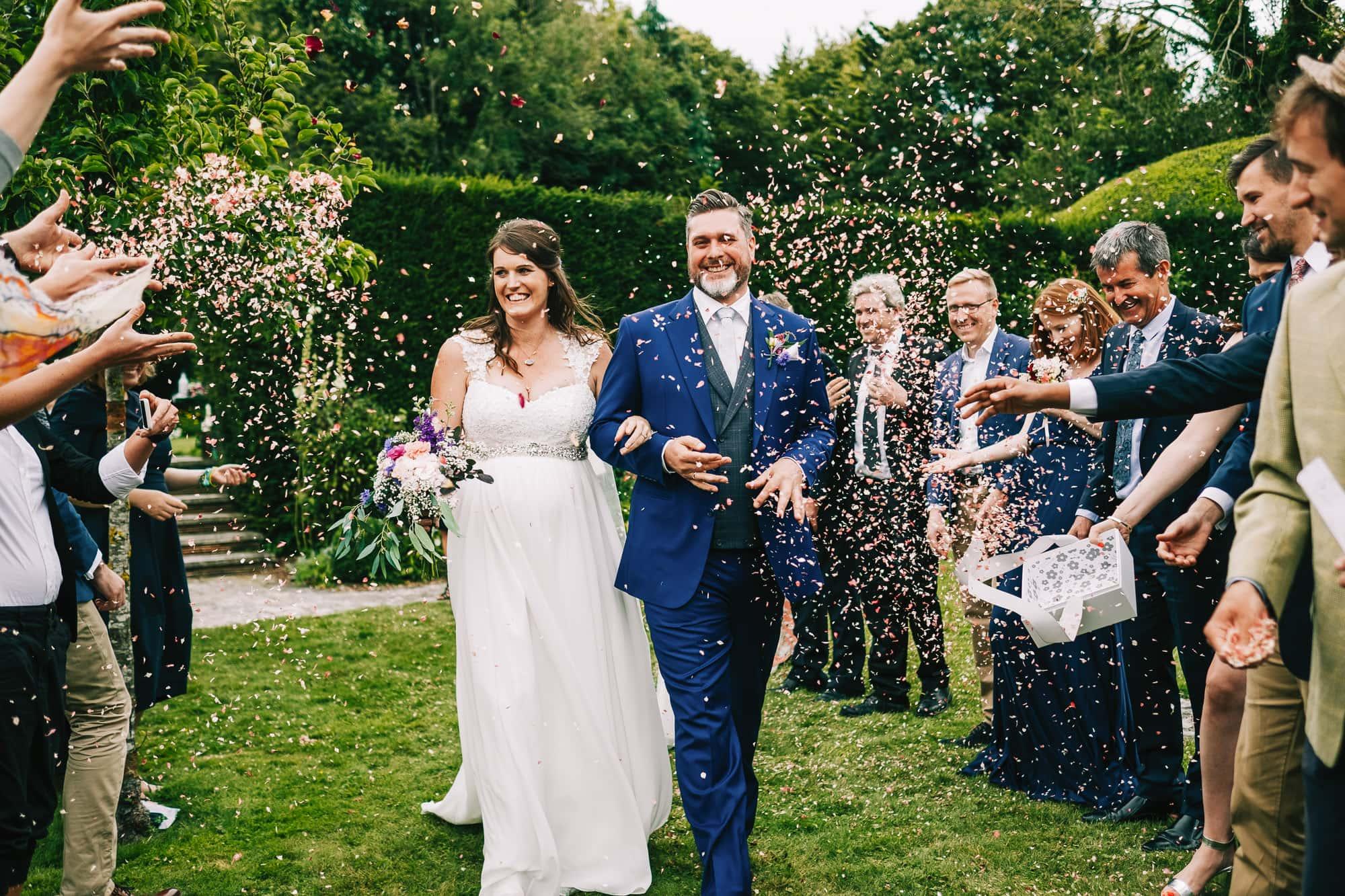 Canterbury Wedding Photographer - Flower girl arrives