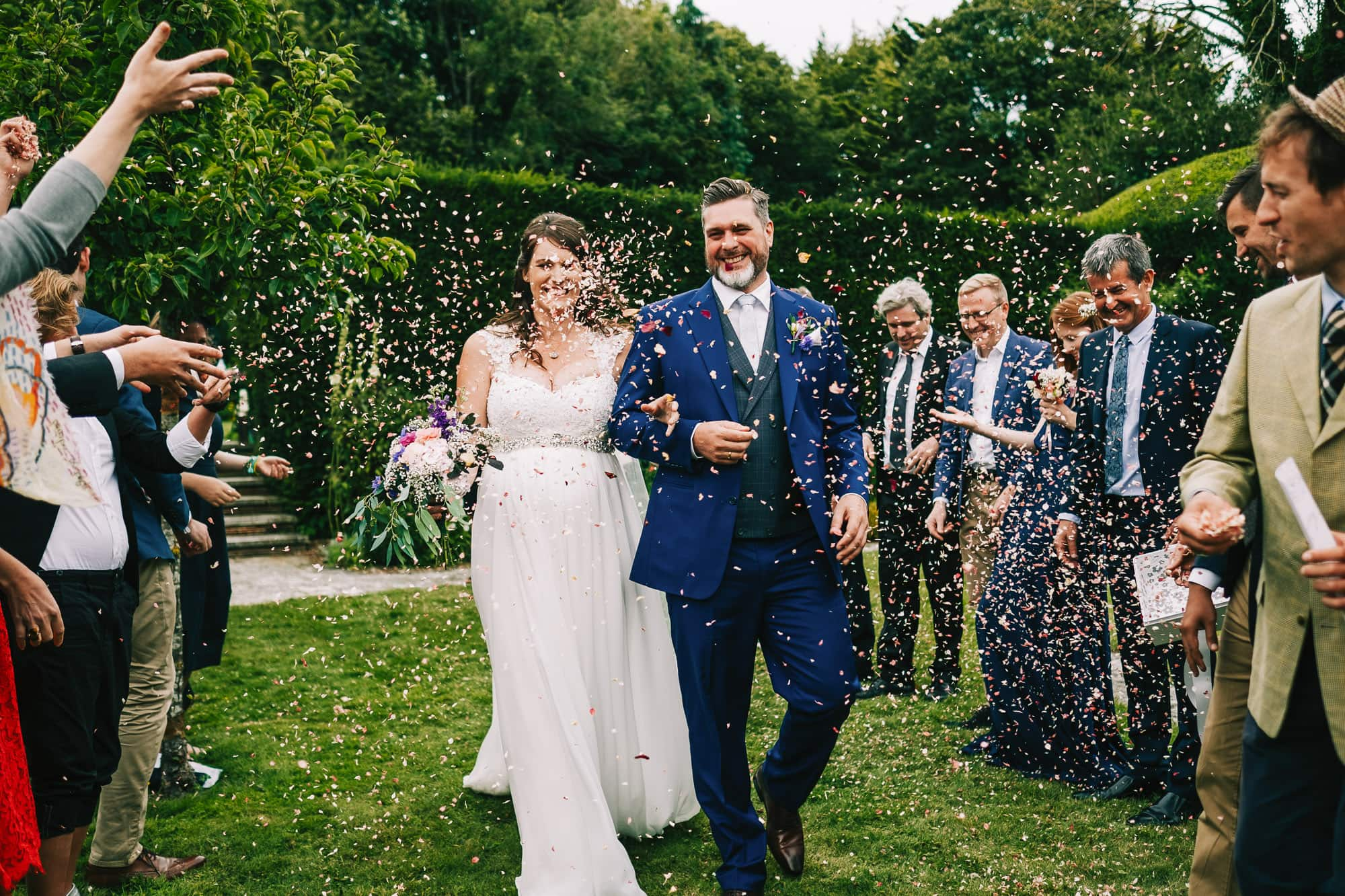 Canterbury Wedding Photographer - Penny's parent beautuful house