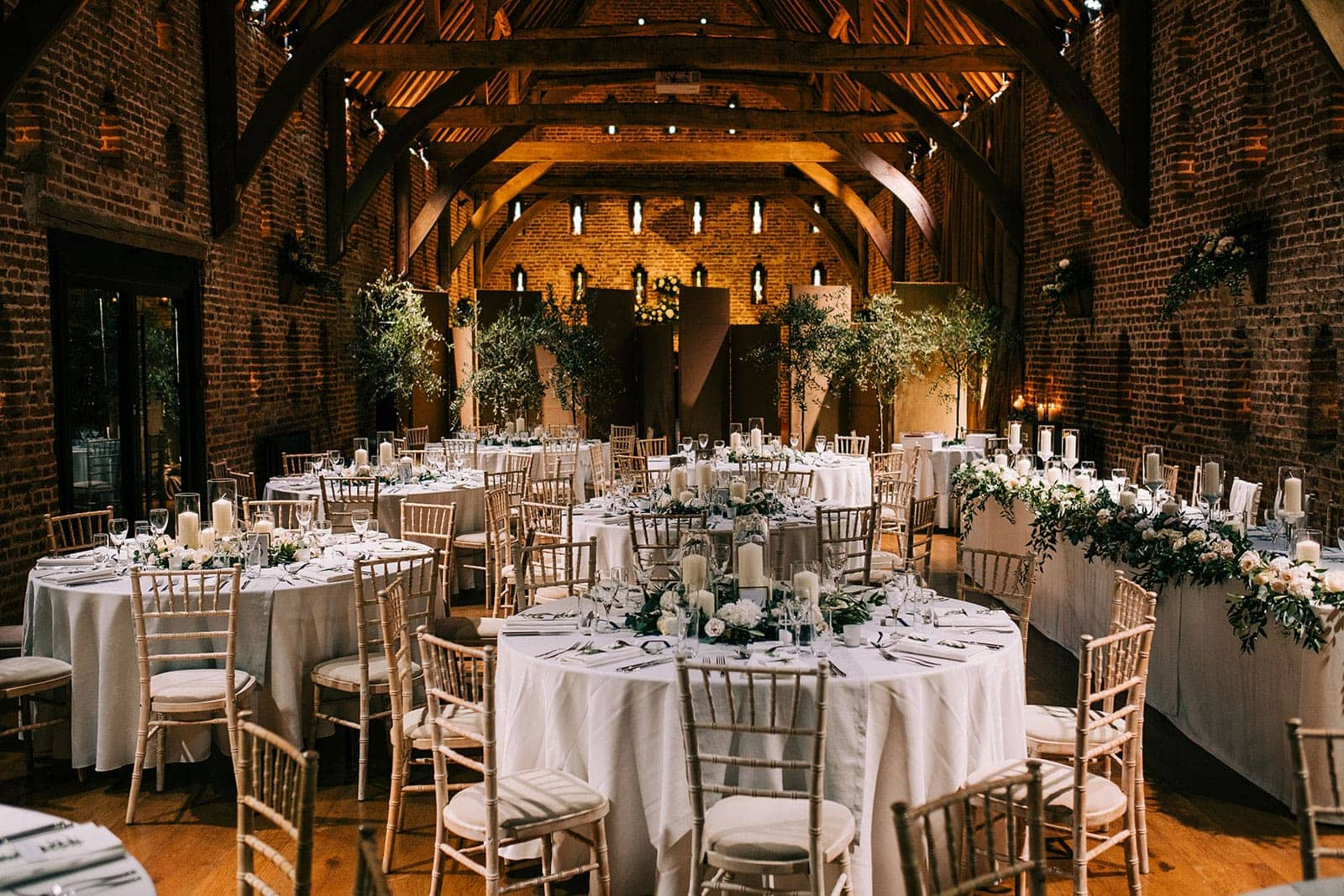 The Great Barn at Hales Hall Norfolk