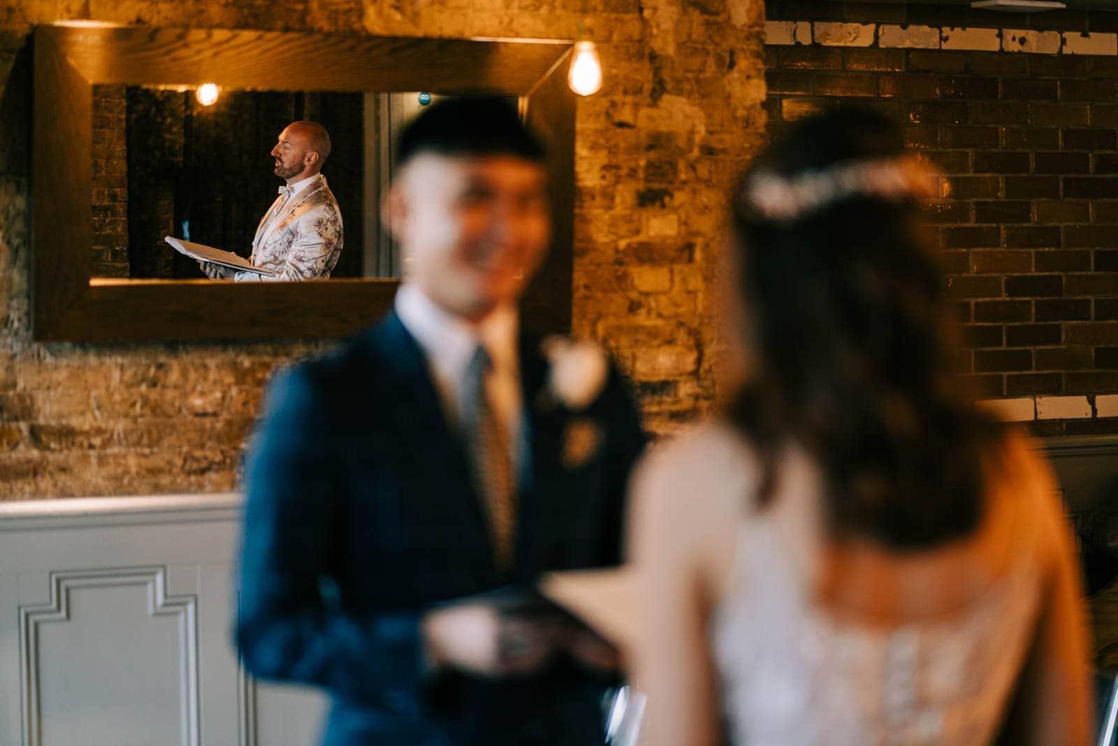 Celebrant led wedding - Century Club London
