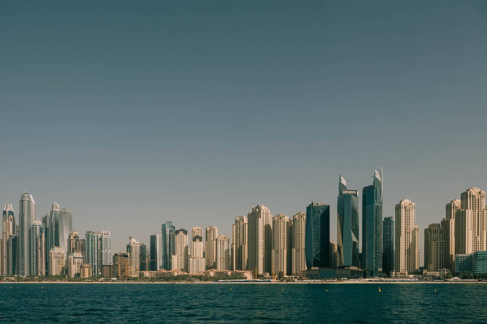 Dubai skyscrapers